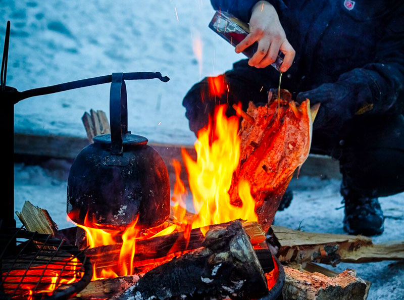 Seizoens (winter) BBQ