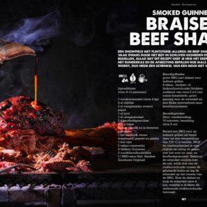 BBQ Feast on Fire - brasied beef shank