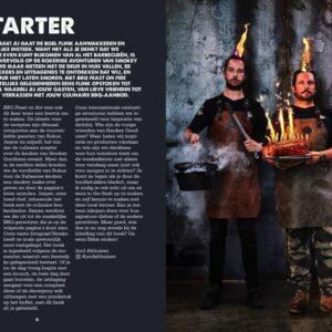 BBQ Feast on Fire - firestarter