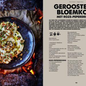 BBQ Feast on Fire - geroosterde bloemkooll