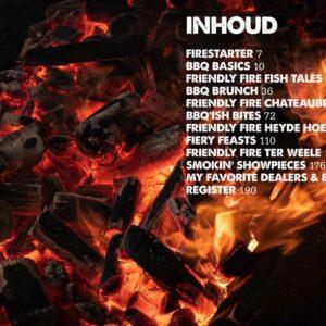 BBQ Feast on Fire - inhoudsopgave