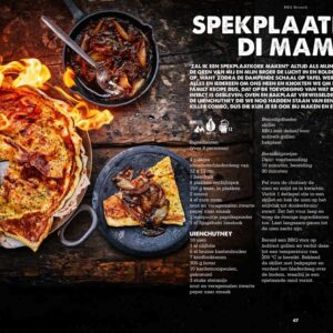 BBQ Feast on Fire - spekplaatkoek di mama