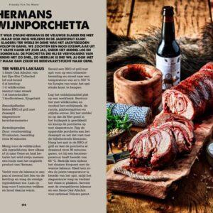 BBQ Feast on Fire - wildzwijn porchetta