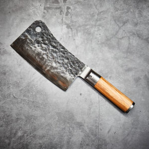 Olive Forged Asian Cleaver