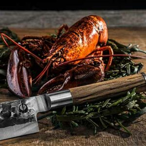 Olive Forged Chef Knife