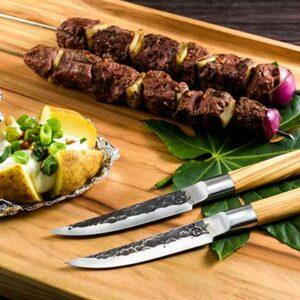 Olive Forged 4 steak messen