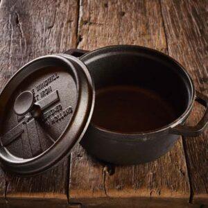 Dutch Windmill - BBQ pan en deksel mini - black 2