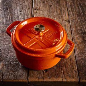 Dutch Windmill - BBQ pan en deksel mini - orange 1