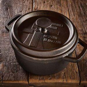 Dutch Windmill - BBQ pan met deksel maxi - black 1