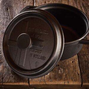 Dutch Windmill - BBQ pan met deksel maxi - black 2