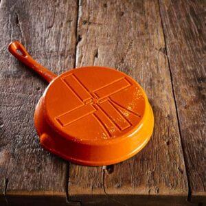 Dutch Windmill - Skillet regular orange 5