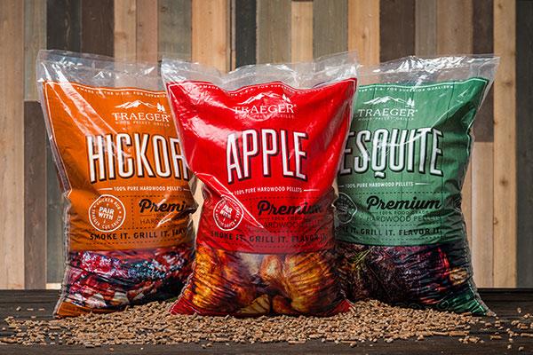 Traefer Rookhout pellets