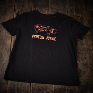 Black Smoke - proteine junkie shirt