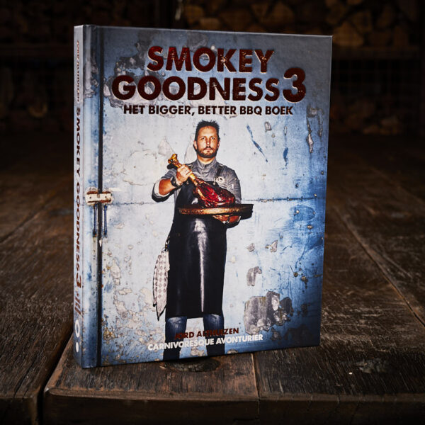 Smokey Goodness - Smokey Goodness 3 Het Bigger Better BBQ boek
