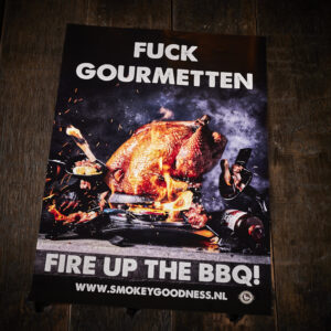 Smokey Goodness - Fuck gourmetten poster