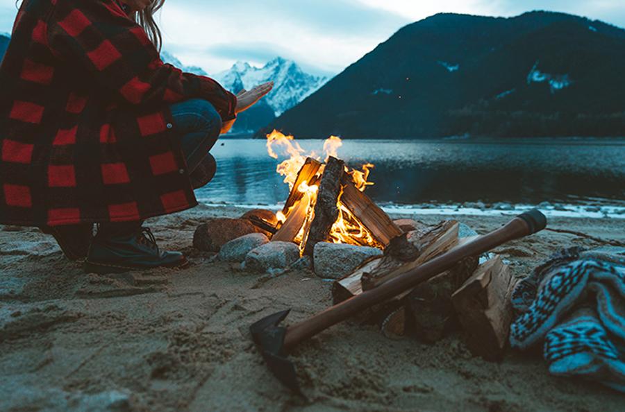 Barebones outdoor living